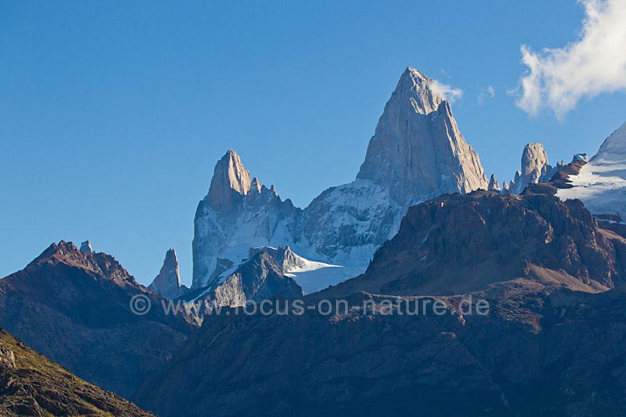 Monte Fitz Roy in Patagonien