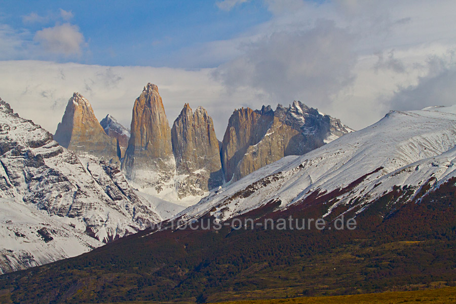 Torres del Paine Nationalpark  Torre Central