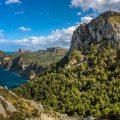 Aussichtspunkt, Mirador de colomer, Mallorca, Spanien