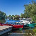 Hafen bei Murighiol, Rumänien