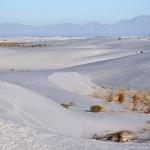 Sacramento Mountains grenzen die White Sands Wüste ab