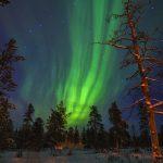 Finnland, Nordlicht, Finnmark, Lappland