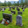 Friedhof von Roldal