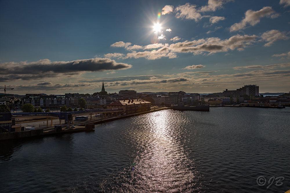 Wir verlassen Kristiansand und Norwegen