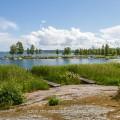 Am Vänernsee, Västra Götaland, Schweden