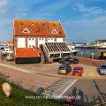 Oudeschild auf der Insel Texel, Holland