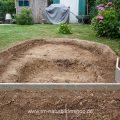 Neubau Vogelbad im Garten
