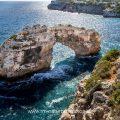 Felsenbrücke Es Pontas bei Cala Santanyi, Mallorca, Spanien