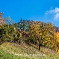 Herbststimmung an der Burg Teck, Owen, Schwäbische Alb,