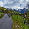 Blick ins Kaunertal, Tirol, Österreich