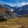 Bergwelt im Kaunertal mit Kaunertaler Gletscher, Tirol, Österreich