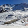 Kaunertaler Gletscher, Skifahrerparadies, Tirol, Österreich