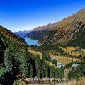 Herbst am Gepatsch Stausee, Kaunertal, Tirol, Österreich