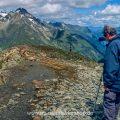 Alpensteinböcke und Fotograf, Pitztal in Tirol