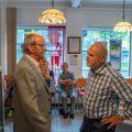 Der Fotograf im Gespräch mit dem 1. Vorsitzenden Herrn Hauff