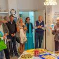 Ausstellungseröffnung, in den Räumen der Sammel-Tasse. Bürger-Treff Kirchheim/Teck