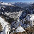 Panorama Leukerbad mit Walliser Alpen