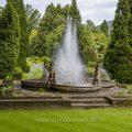 Wasserspiele In den Gärten der Villa Taranto, Lago Maggiore, Piemont, Italien