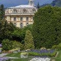 Villa In den Gärten der Villa Taranto, Lago Maggiore, Piemont, Italien