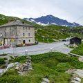 Landschaft am San Bernardino-Pass, Graubünden, Schweiz