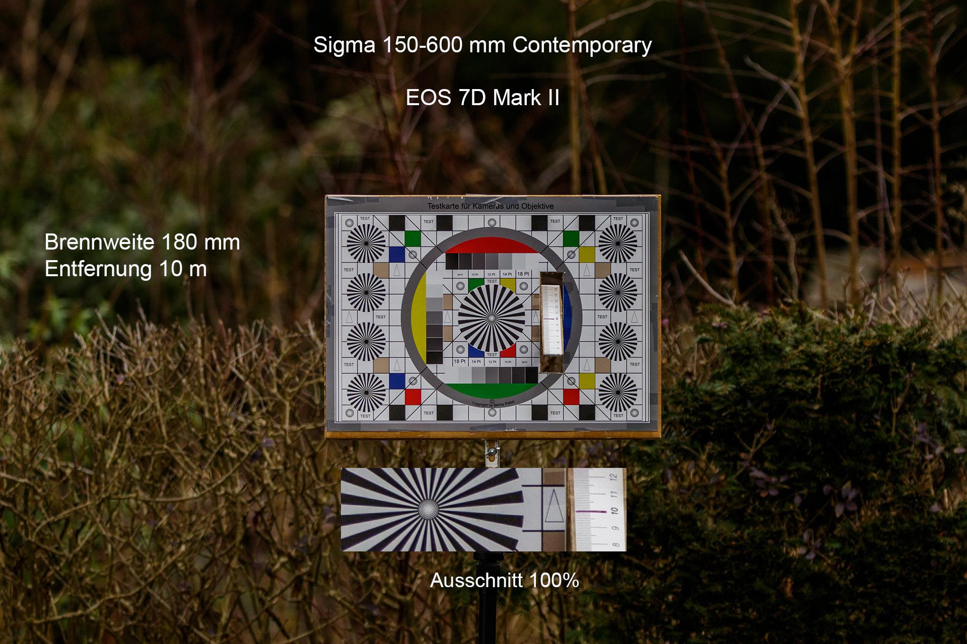 Testaufnahmen, Sigma 150-600 mm, 7D Mark II, Entfernung 10 Meter