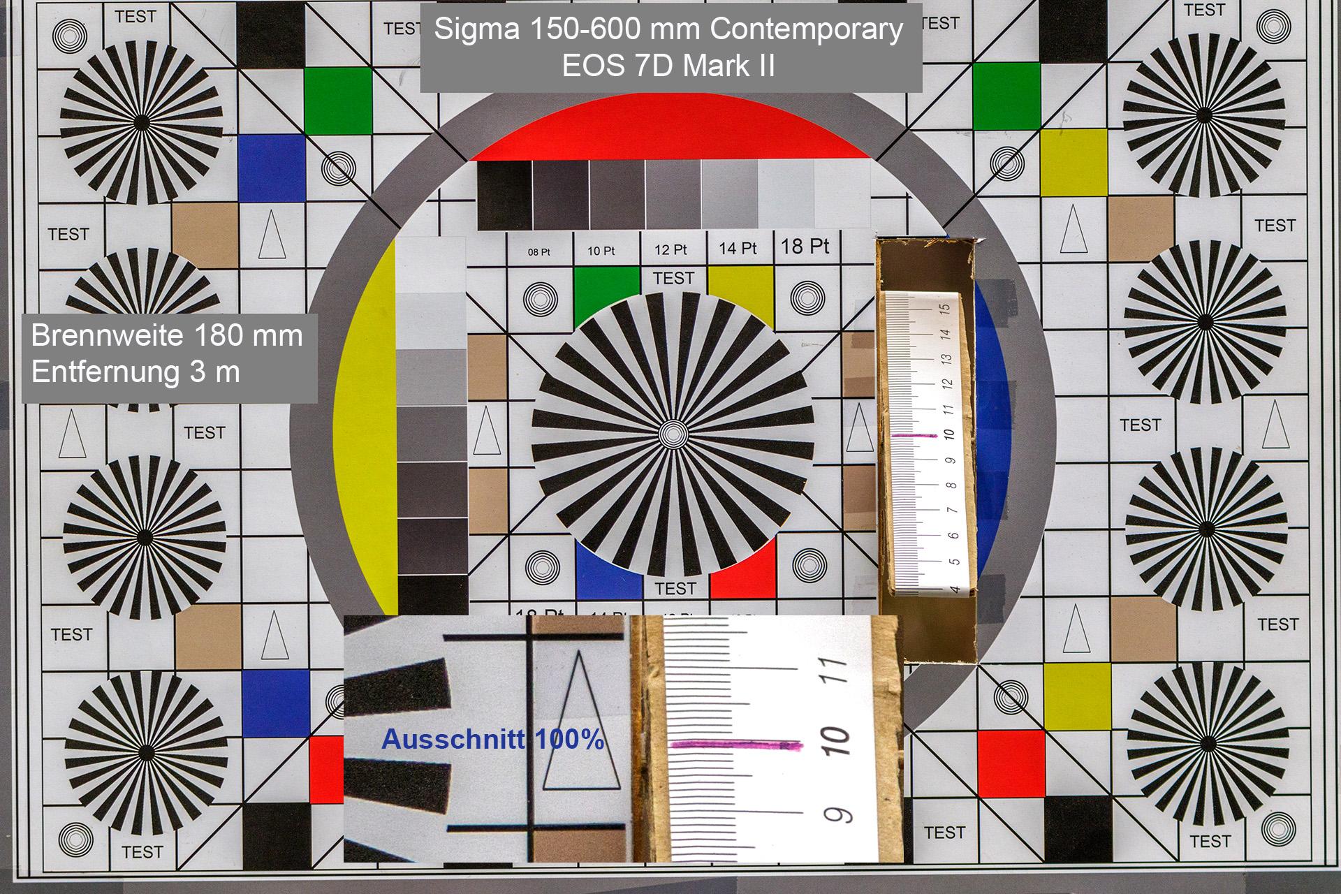 Testaufnahmen, Sigma 150-600 mm, 7D Mark II, 3 Meter, 180 mm