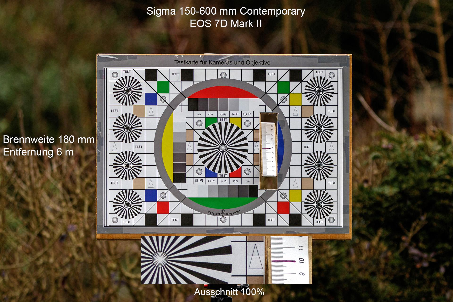 Testaufnahmen, Sigma 150-600 mm, 7D Mark II, 6 Meter, 180 mm