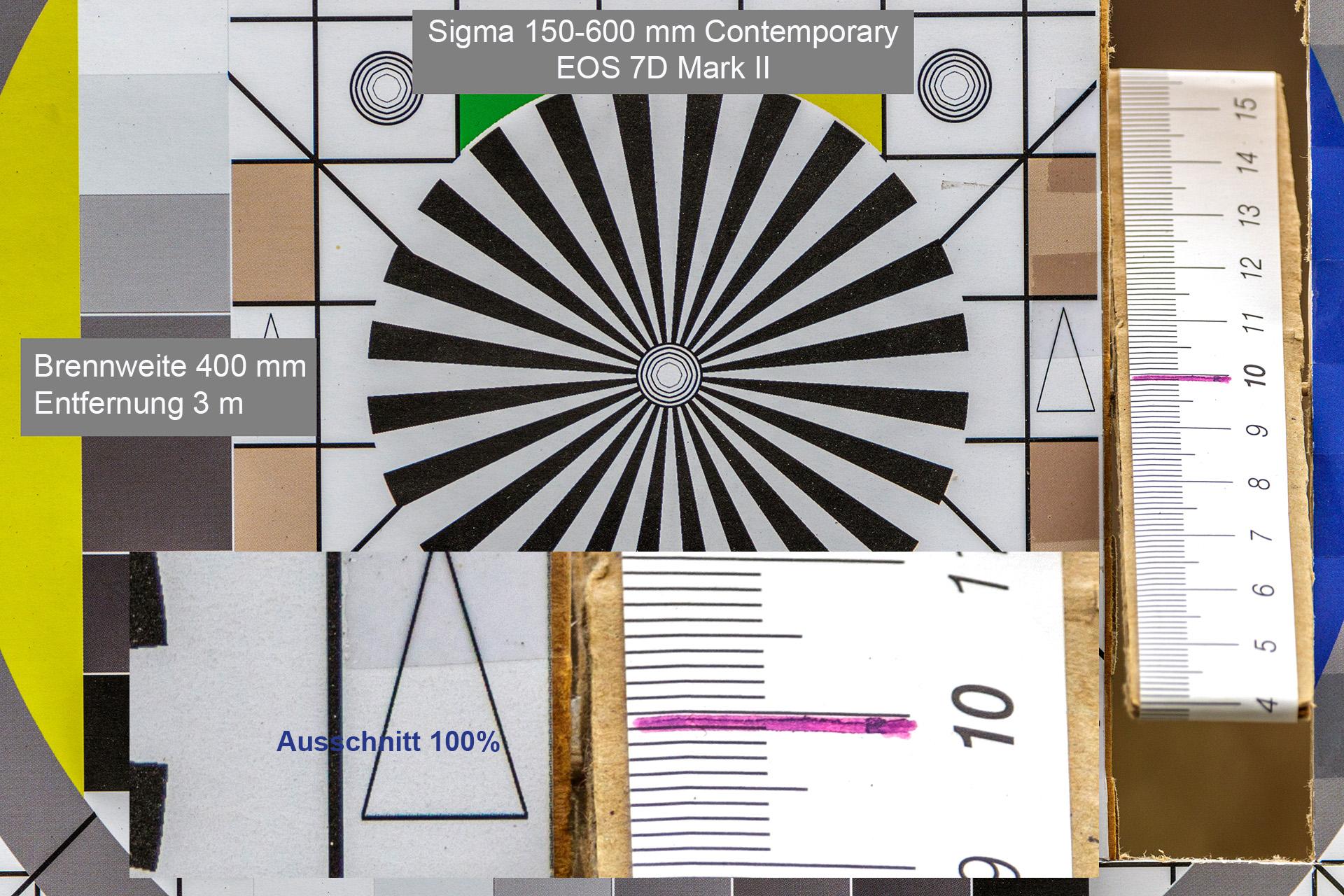 Testaufnahmen, Sigma 150-600 mm, 7D Mark II, 3 Meter, 400 mm