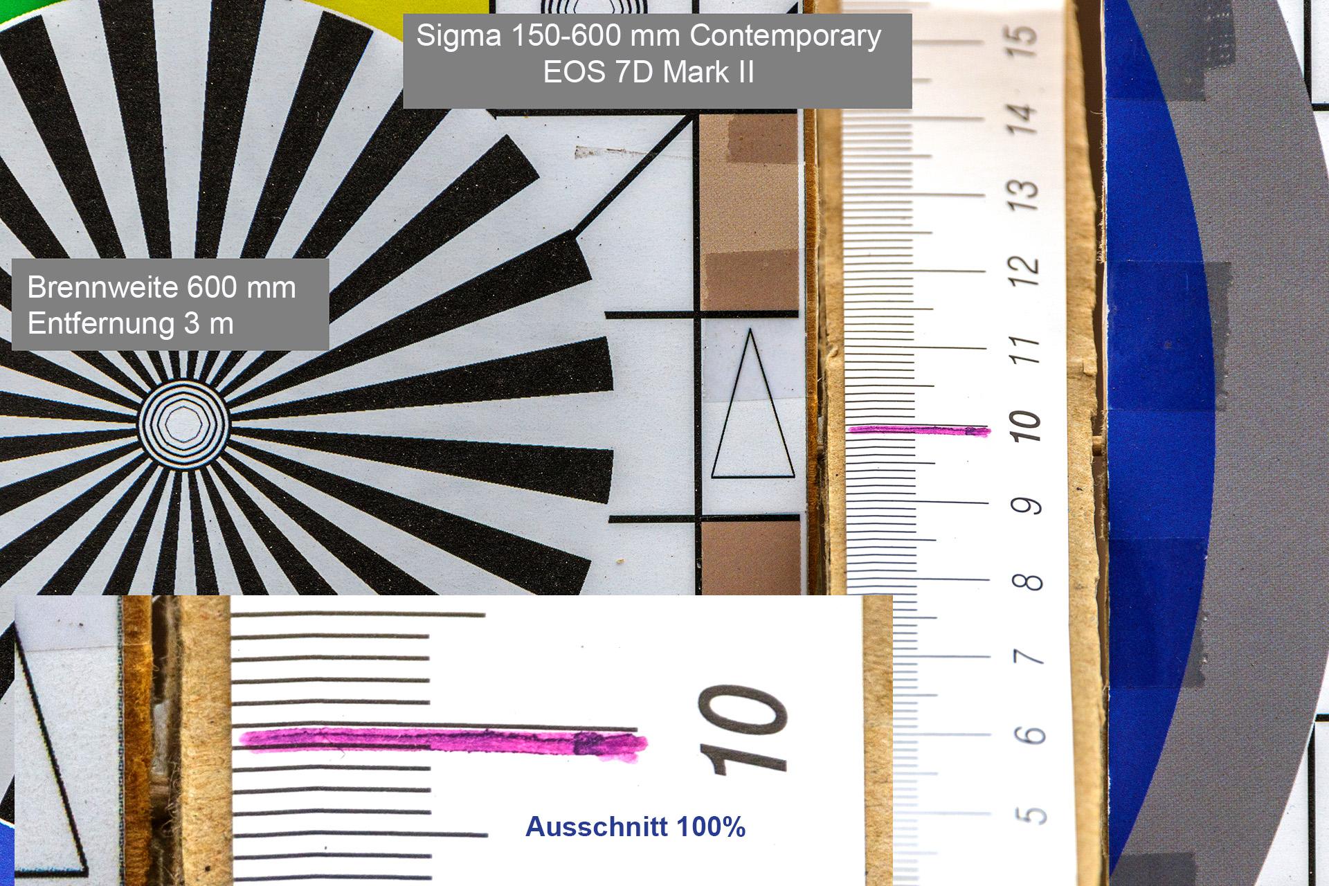 Testaufnahmen, Sigma 150-600 mm, 7D Mark II, 3 Meter, 600 mm