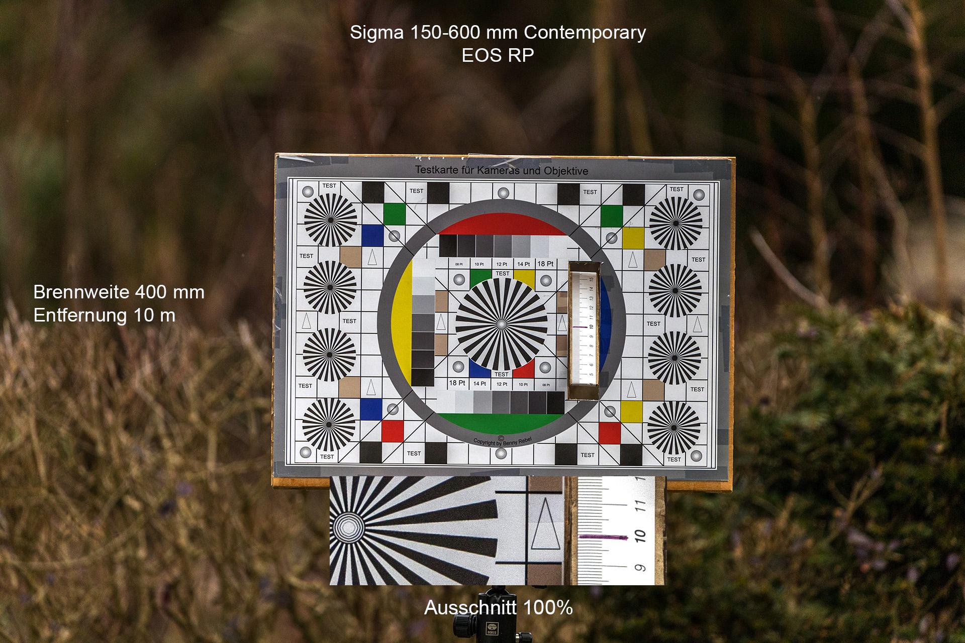 Testaufnahmen mit Sigma 150-600 mm, Canon EOS RP, 400 mm, 10 Meter