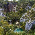 Landschaft an den Plitvicer Seen, Kroatien